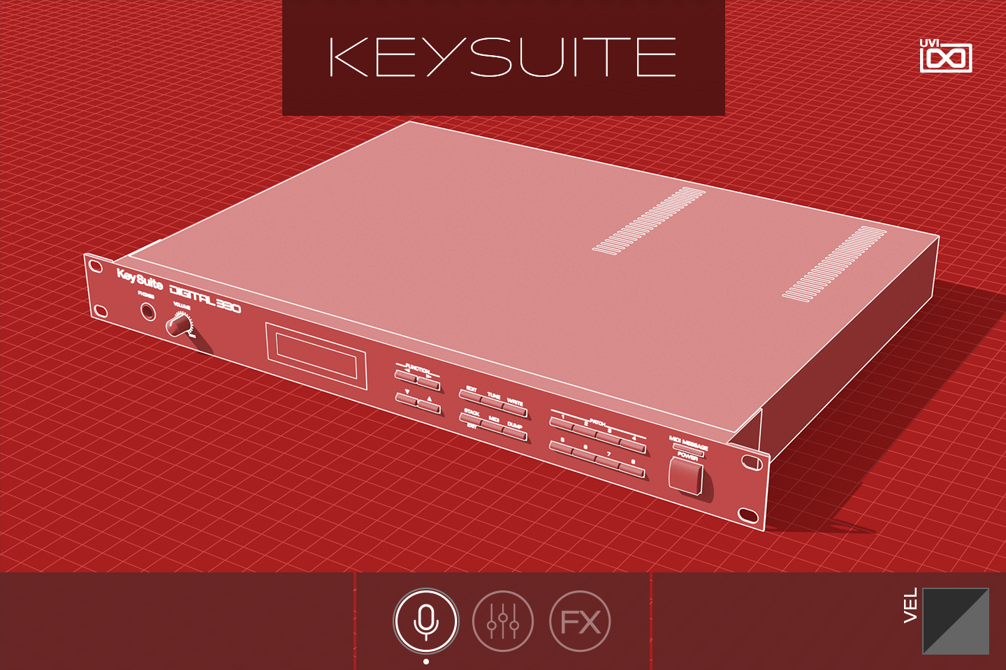 Key Suite Digital | Digital 330 GUI