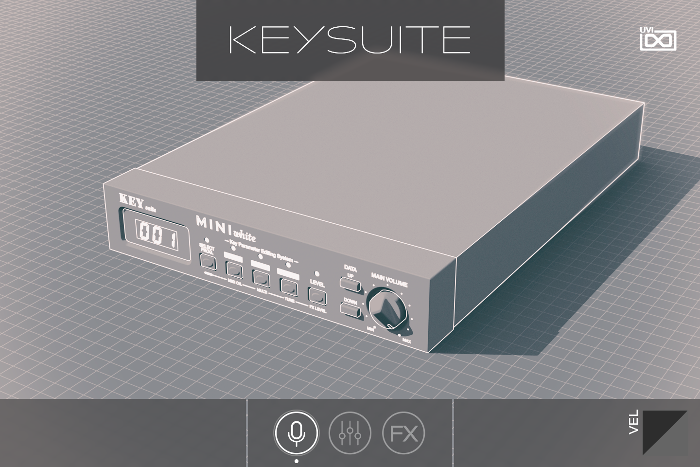 Key Suite Digital | Mini White GUI