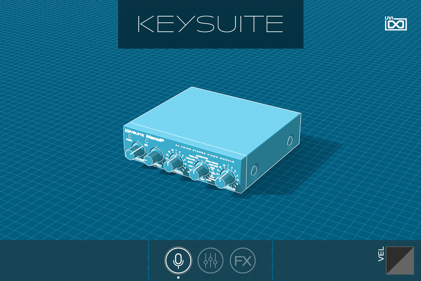 Key Suite Digital | Nano P GUI