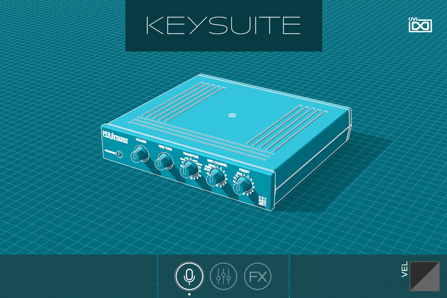 Key Suite Digital PERformance GUI