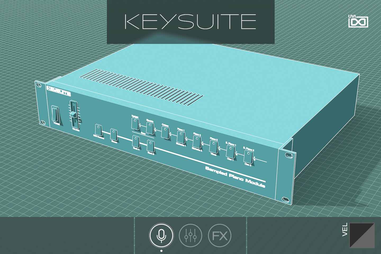 Key Suite Digital | Sample Piano Module GUI
