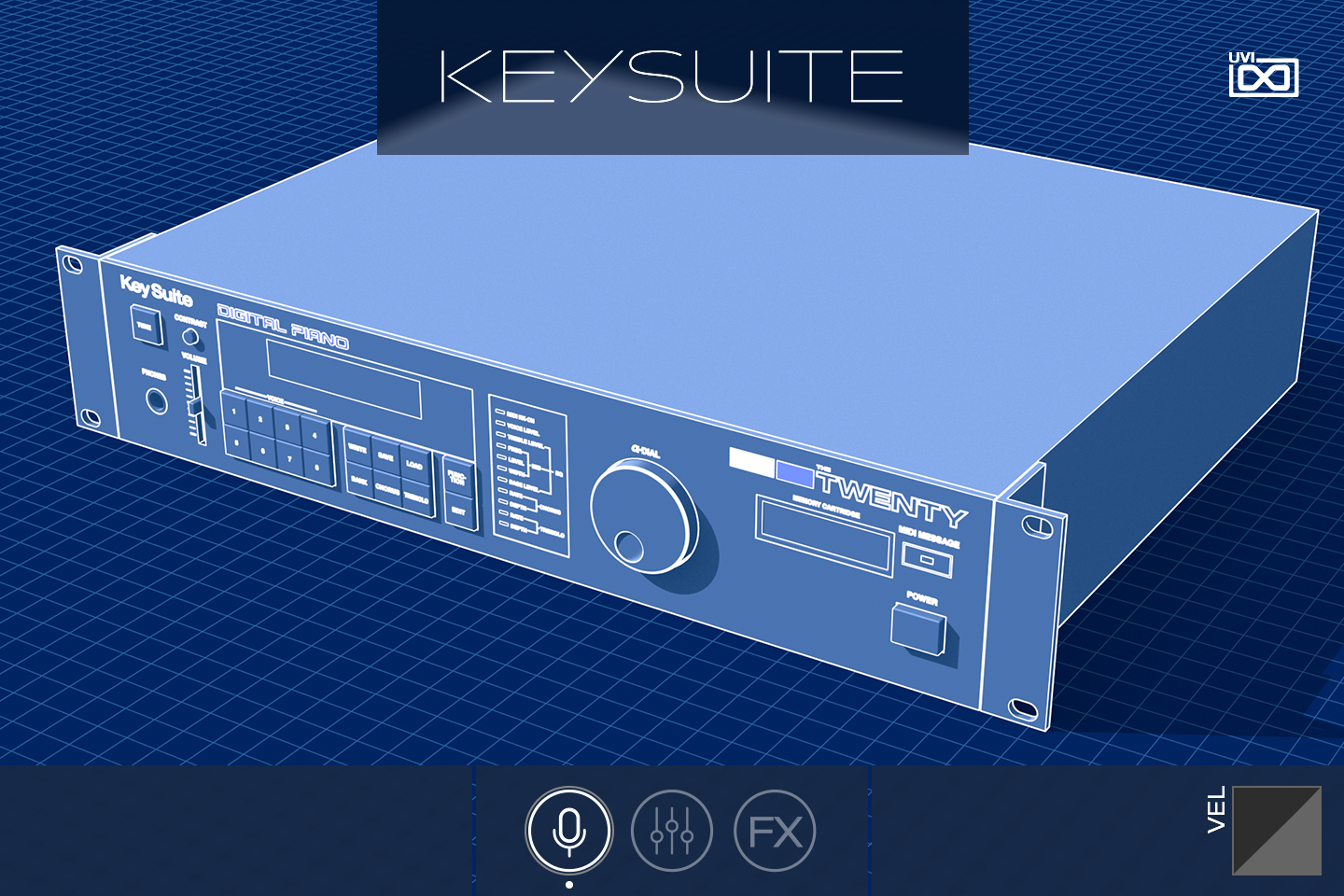 Key Suite Digital | The Twenty GUI