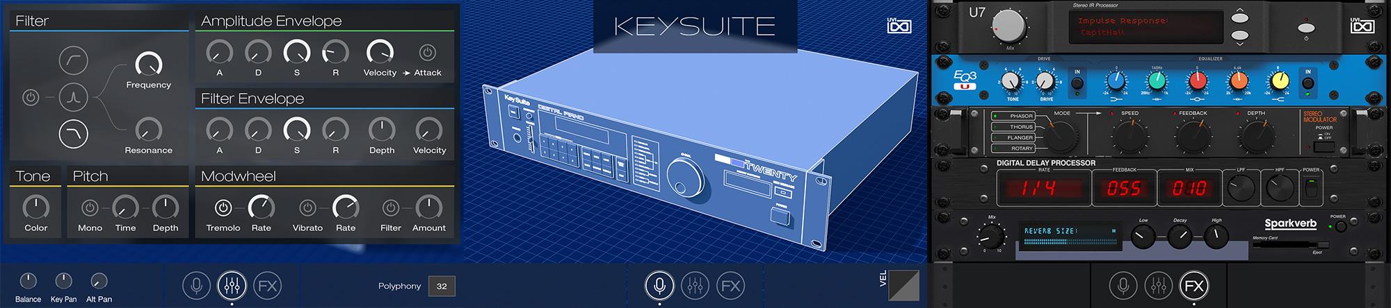 UVI Key Suite Digital | Pages