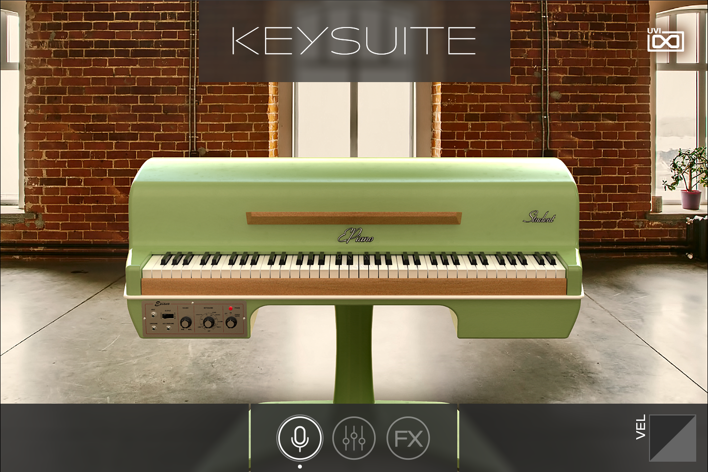 Key Suite Electric | EPiano Student Green