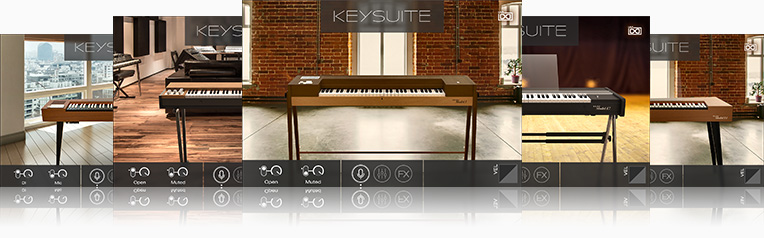 UVI Key Suite Electric | Clavs