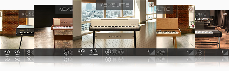 UVI Key Suite Electric | Electro-Acoustic