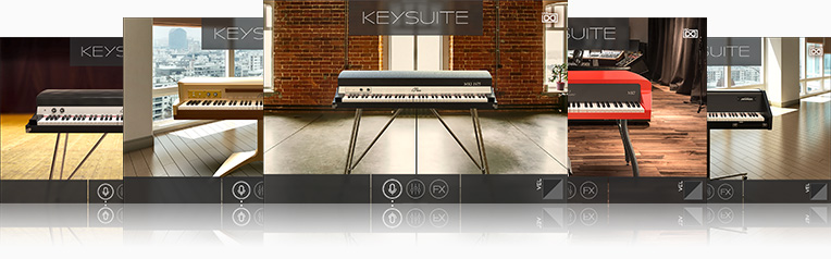 UVI Key Suite Electric | Tines