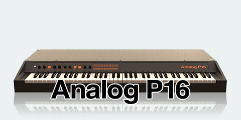 UVI Key Suite Electric | Analog P16