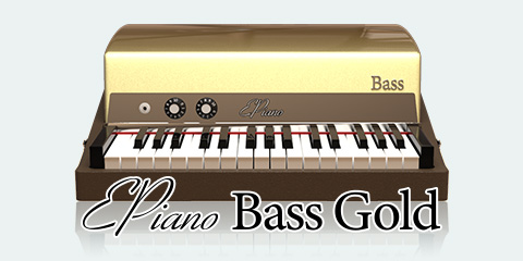 UVI Key Suite Electric | EPiano Bass Gold