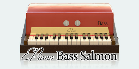 UVI Key Suite Electric | EPiano Bass Salmon
