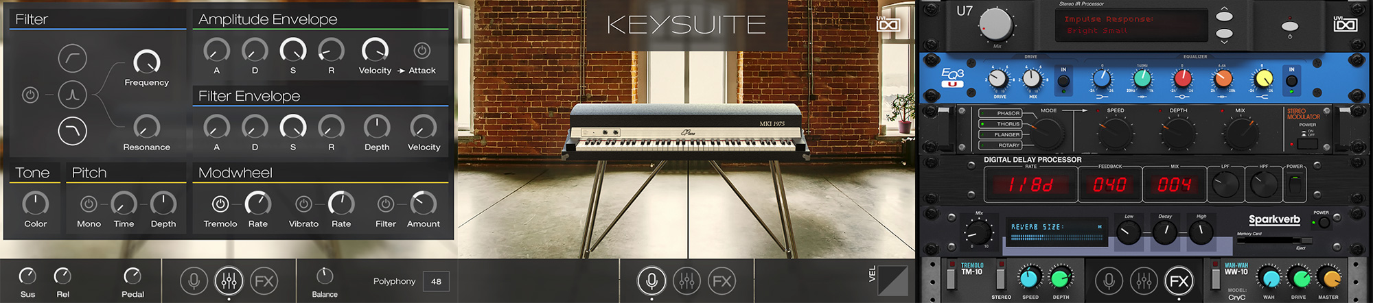 UVI Key Suite Electric | Pages