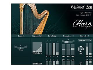 UVI Orchestral Suite | Harp