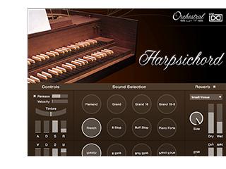 UVI Orchestral Suite | Harpsichord