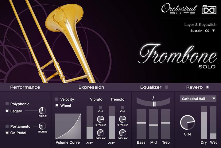 UVI Orchestral Suite | Trombone UI