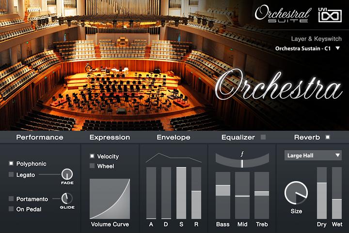 UVI Orchestral Suite | Orchestra UI
