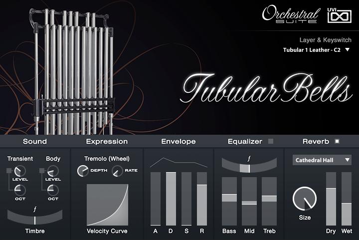 UVI Orchestral Suite | Tubular Bells UI