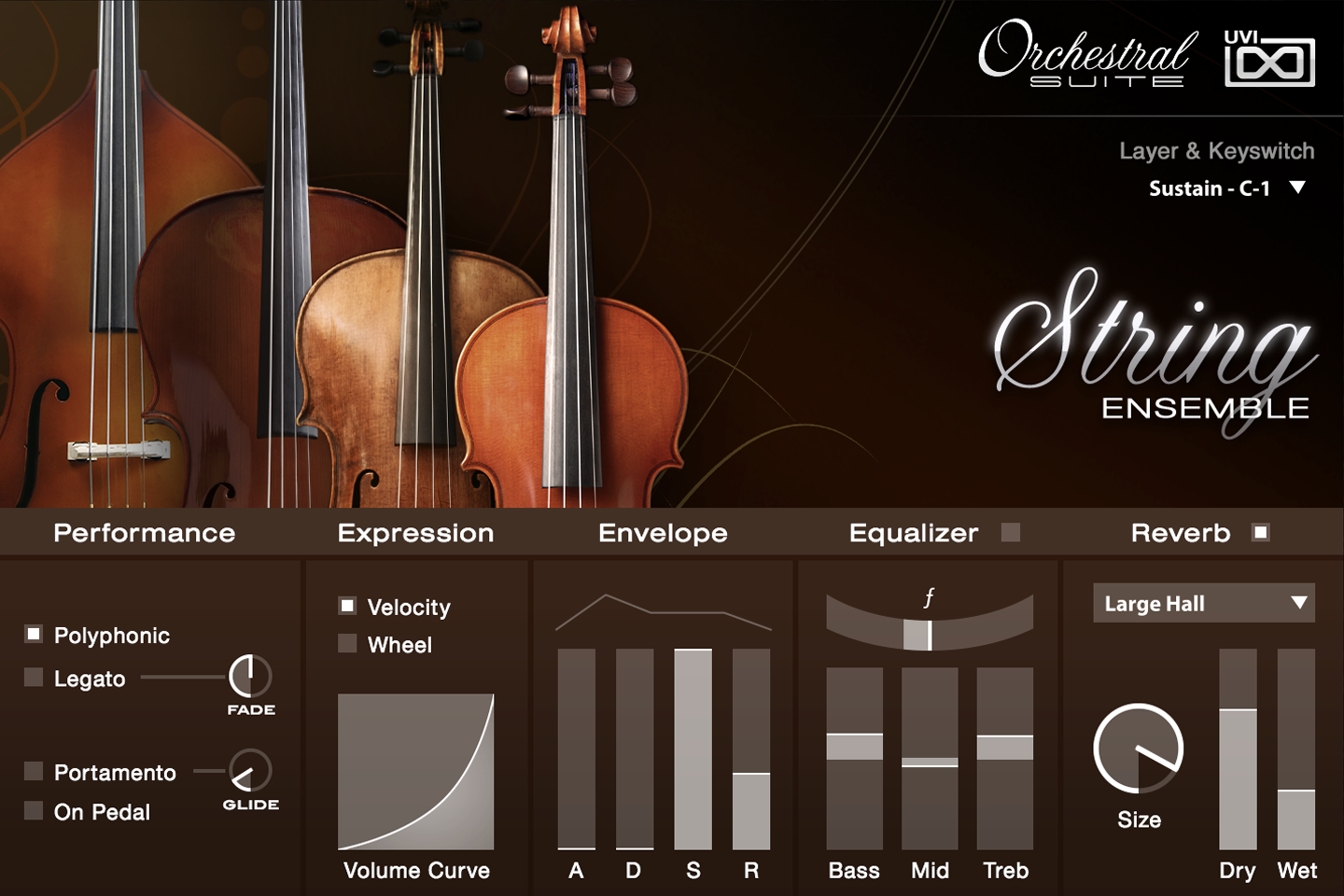 UVI Orchestral Suite | String Ensemble UI