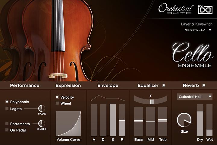 UVI Orchestral Suite | Cello UI