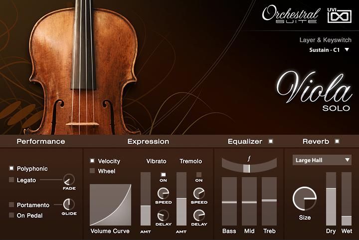 UVI Orchestral_Suite | Viola UI