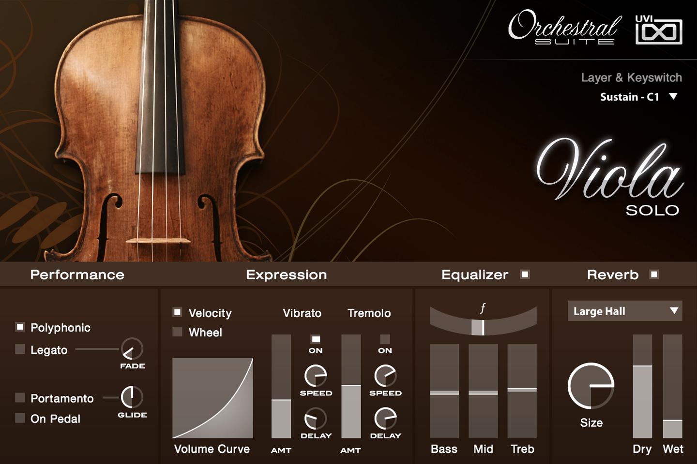 UVI Orchestral Suite | Viola UI