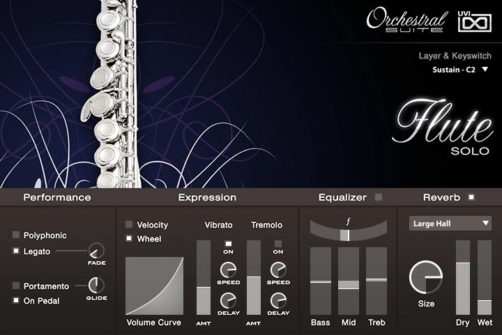 UVI Orchestral Suite | Flute UI