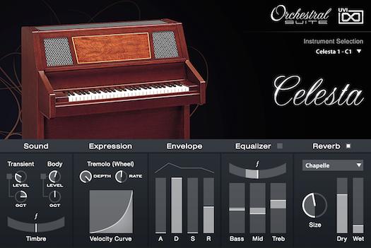 UVI Orchestral Suite | Celesta UI