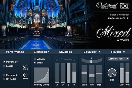 UVI Orchestral Suite | Mixed Choir UI