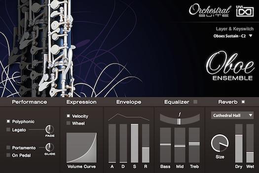 UVI Orchestral Suite | Oboe UI