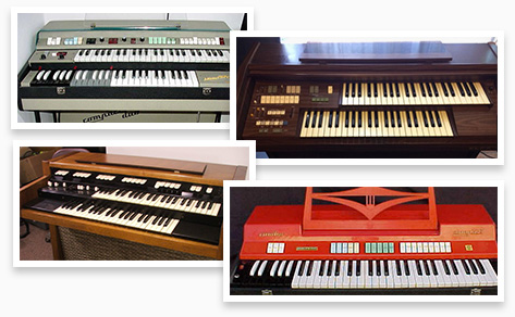 Retro Organ suite | Combo K