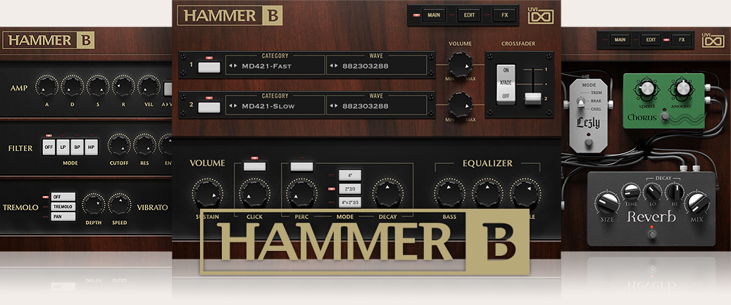 Retro Organ suite | Hammer B