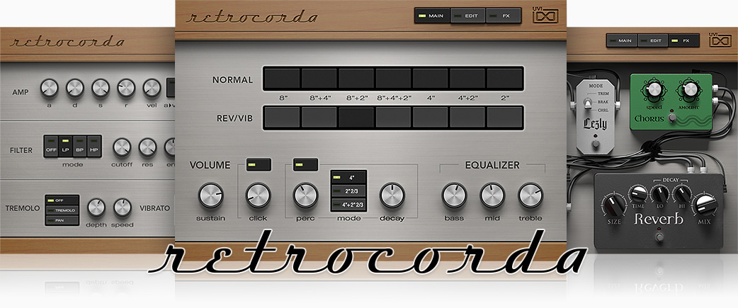 Retro Organ suite | Retrocorda