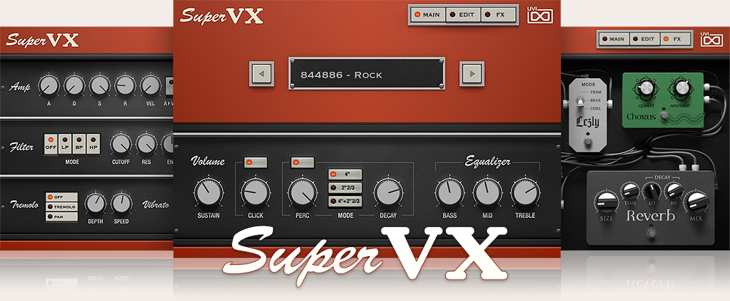 Retro Organ suite | Super VX