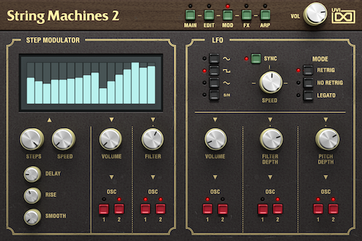String Machines 2 | Mod GUI