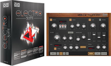 UVI Electro Suite | GUI