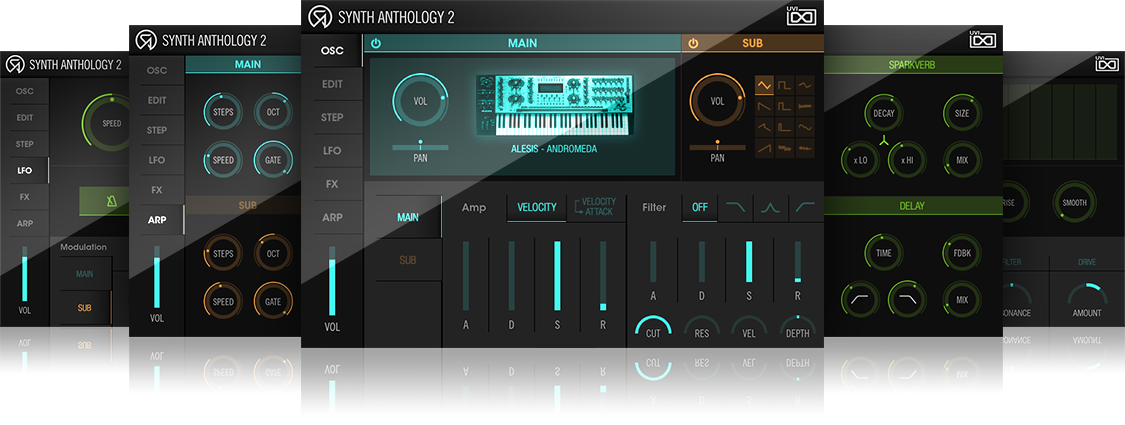UVI Synth Anthology II | GUIS