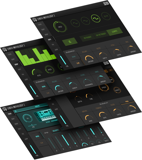 UVI Synth Anthology II | UI