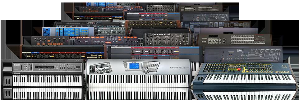 UVI Synth Anthology 2   Machines