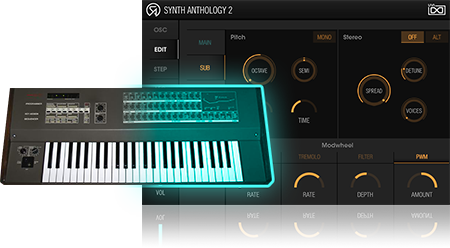 UVI Synth Anthology II |Recording