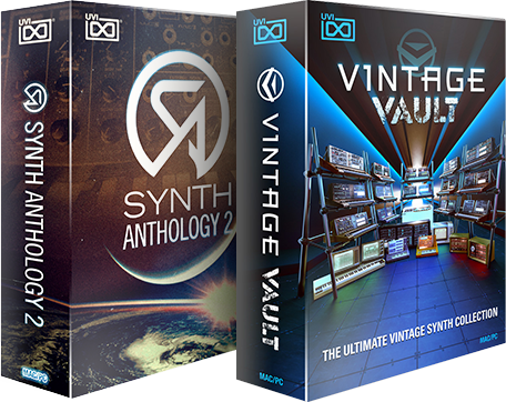 UVI Synth Anthology II | Vintage Vault