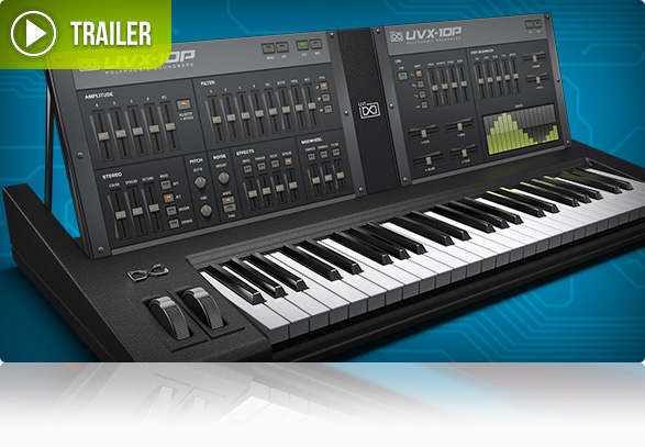 UVI UVX-10P - The Analog Sound of the 80's