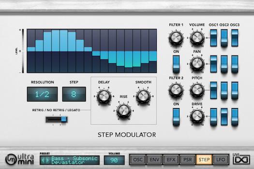 UVI UltraMini | Step UI