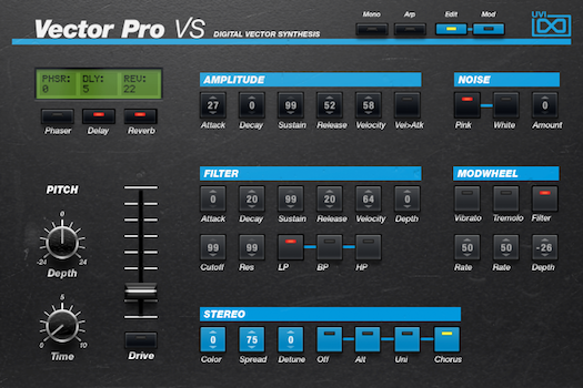 Vector Pro VS | GUI