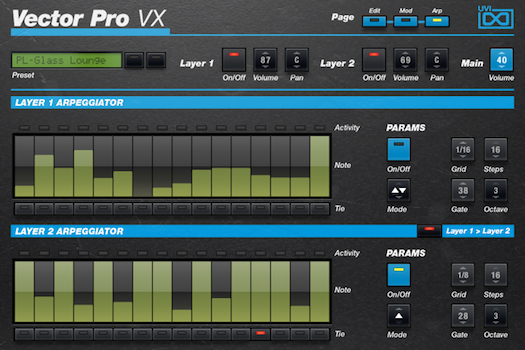 Vector Pro VX | Arp GUI