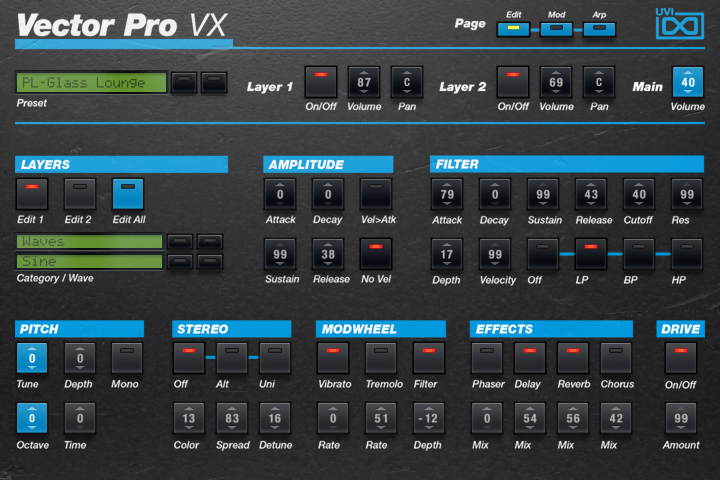 Vector Pro VX