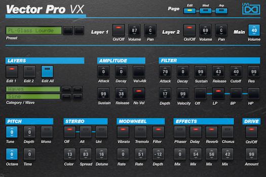 Vector Pro VX | GUI
