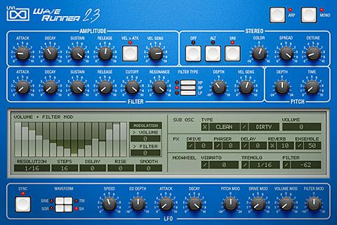 UVI WaveRunner - 2.3 | GUI