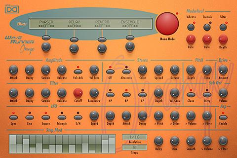 UVI WaveRunner - Orange | GUI