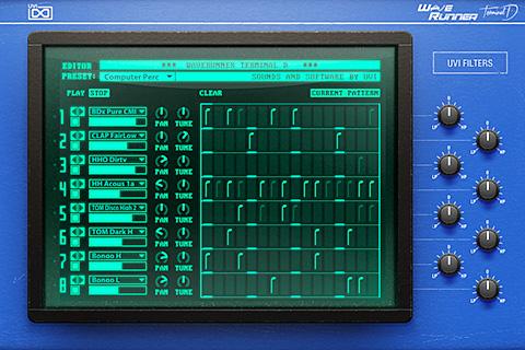 UVI WaveRunner - Terminal D | GUI