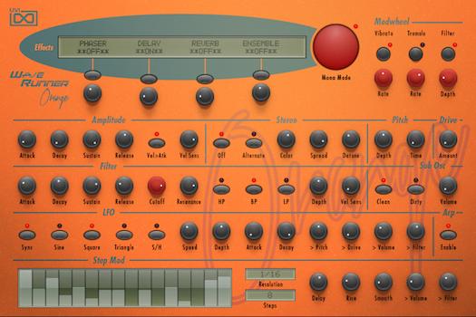 WaveRunner Orange