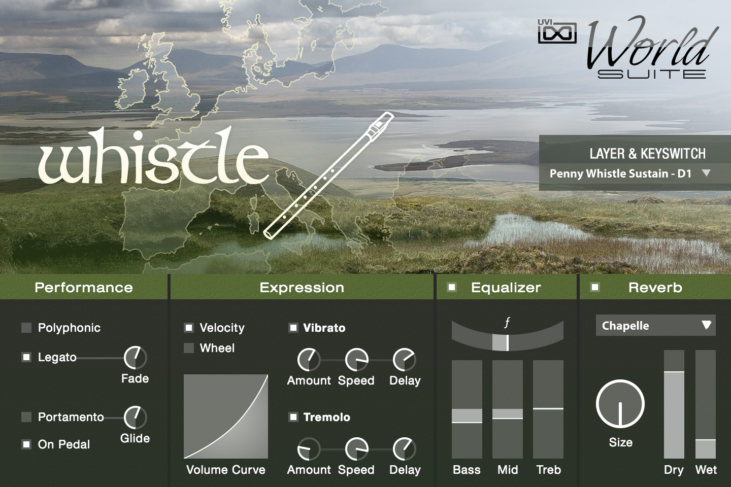 UVI World Suite | Whistle UI